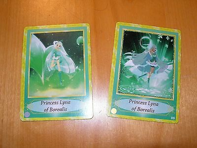 Lolirock Cards 8 9 Lyna MINT Silver Gold Princess Transformed like anime