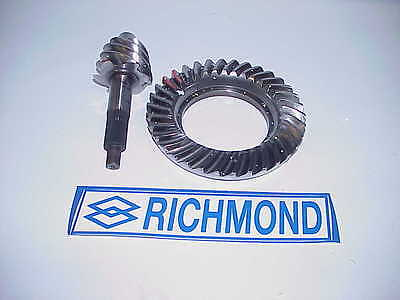 "Richmond 9"" Ford 5.67 Polished & Backcut Ring & Pinion NASCAR IMCA Derby RSWH23"