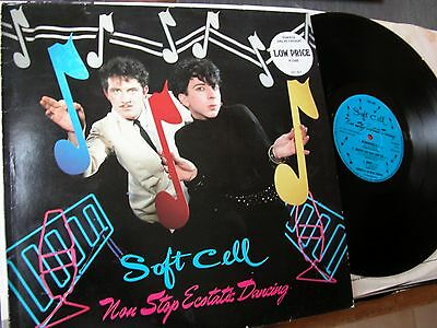 1982 vinyl LP: SOFT CELL  NON STOP ECSTATIC DANCING  BZX1012