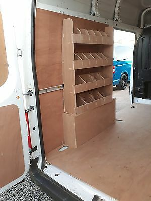 Ford Transit pre 2014 Racking , Tools, Parts Storage Unit, Shelving, Ply lining