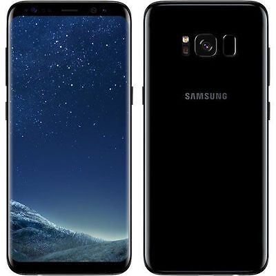 New Samsung Galaxy S8+ Plus SM-G955F LTE 64GB Midnight Black Unlocked UK