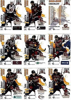 Guildford Flames, 2016-17 Cards, Rare Complete Set, (30 Cards).