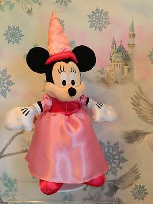 """Official Disneyland Parks 14"""" ** Minnie Mouse Princess ** Plush Character"""