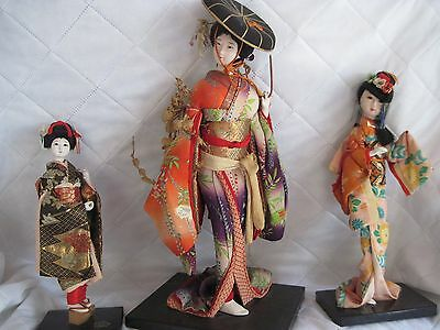 Oriental Dolls-Excellet Condition-One Wisteria Dancer
