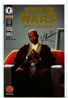 Star Wars: Jedi Council #1 (2000) Dark Horse Sealed Gold Foil/Signed Variant COA