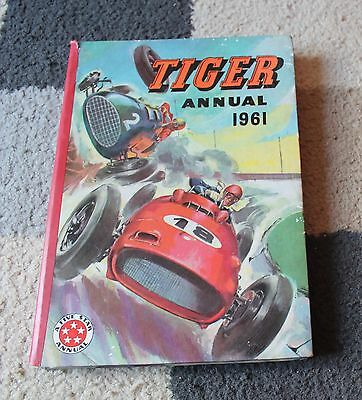 TIGER ANNUAL 1961 Unclipped (Good Condition) VINTAGE Childrens Book SPORT