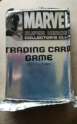 *UNOPENED* Marvel Super Heroes Collector's Club - Trading Card Game