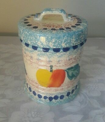 Bellini Piu Small Porcelain Canister . Made In Italy