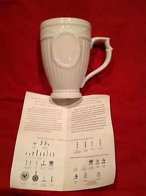 Antique Continental German Kpm Berlin Blanc De Chine Porcelain