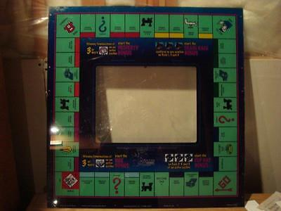 Monopoly Board Large Slot Machine Cover Las Vegas, Nevada 24 X 23 1/2 Inches!