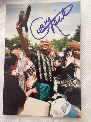 Curly Neal Harlem Globetrotters Autographed Signed Photo