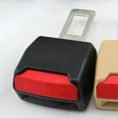 2x Useful Auto Car Seat Belt Buckle Clip Extender Safety Alarm stopper Universal