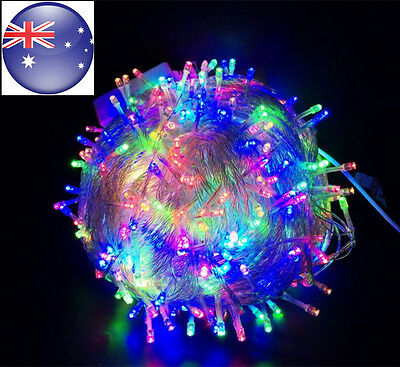 40M 400LED Lamp Waterproof  Fairy String Lights  Christmas Tree Party  Colorful