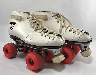 Riedell Vintage U.S.A. Sure Grip  Competitor Roller Skates -
