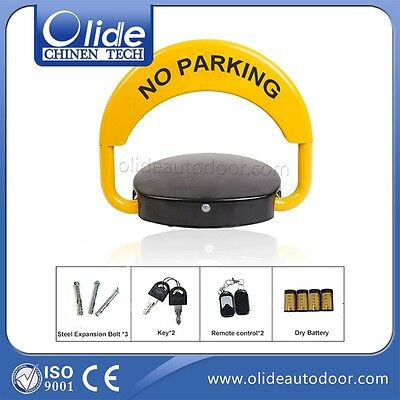 Private Parking Space Lock with Locked Remote Control