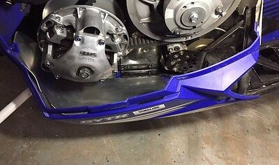 Yamaha Sr viper belly Pan Protector / Belt guard