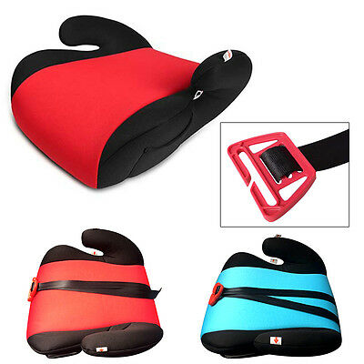 Car Booster Seat Safe Sturdy Baby Child Kid Children Fit 3-12 Years CE Cert
