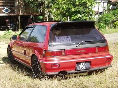For JDM CRX EF8 EF7 Sir JS J/'S Racing Style bumper lip spoiler 90-91/' charge