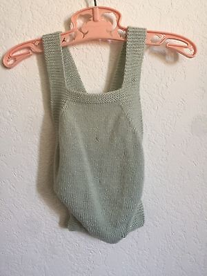 Vintage Knitted Baby Jumpsuit 0-3 Months