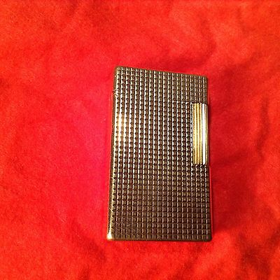 Authentic Vintage S. T. Dupont Lighter 20 Micron Gold Plated Beautiful