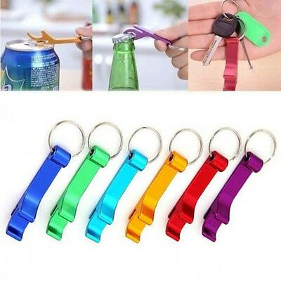 3X Key Chain Beer Bottle Can Opener Beverage Keychain Claw Bar Pocket Tool HOT
