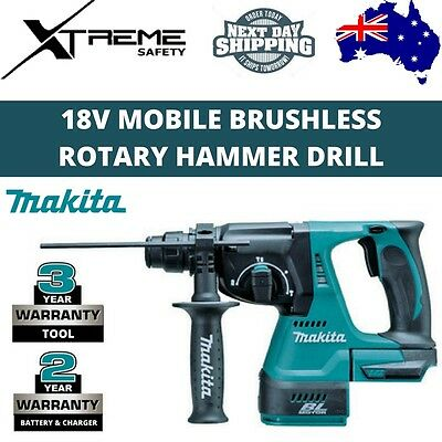 New MAKITA 18V Mobile Brushless Rotary Hammer Drill DHR242Z