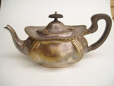 silver plated fancy tepot