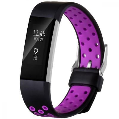 Fitbit Charge 2 Band Heart Rate Replacement Fitness Accessory Wristband Sports