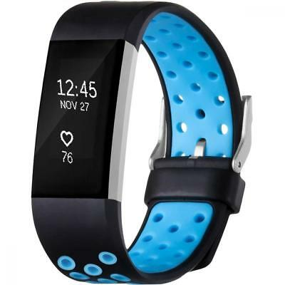 Band Fitbit Charge 2 Heart Rate Sports Replacement Fitness Accessory Wristband