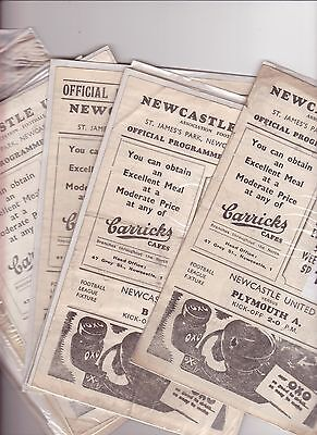Newcastle V Coventry 1946/47
