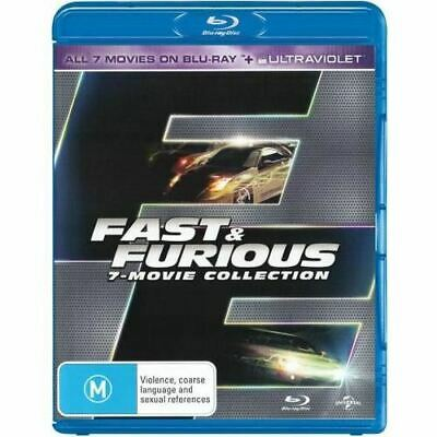 Fast and Furious (7-Movie Collection) (Blu-ray/UV)