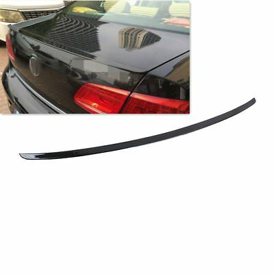 Black Painted Rear Trunk Boot Spoiler Lip Wing Fit For VW Passat B7 11-14 Saloon
