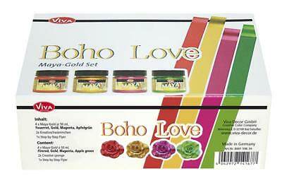 "Viva Decor, Maya-Gold Set ""Boho Love"", 7-teilig"