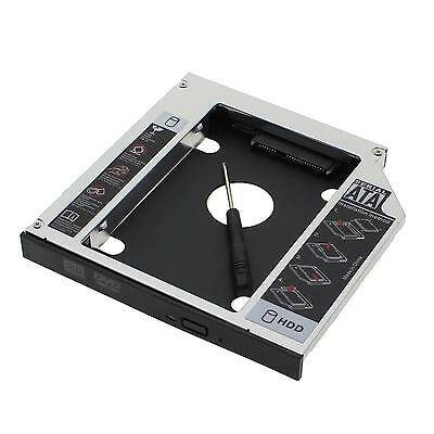 Laptop 2nd Hard Drive HDD DVD Bay Caddy 12.7mm SATA to SATA For ACER/ASUS/DELL