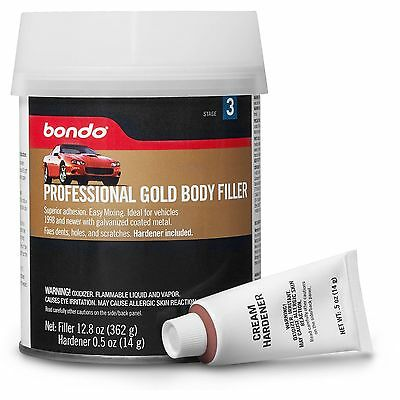 Bondo 00237 Professional Gold Filler, 12.80 oz. Made in USA