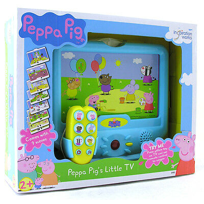 Peppa Pig's Little TV Electronic Childrens Educational Game