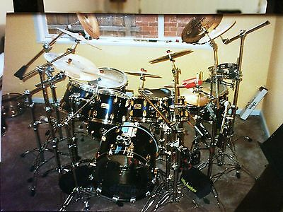 Pearl Maple Pro Series GLX Drum Kit, Rare Kit, Mint Condition