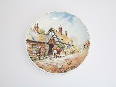 "Royal Doulton English China Village Life Collectors Plate.""Pride and Patience""."