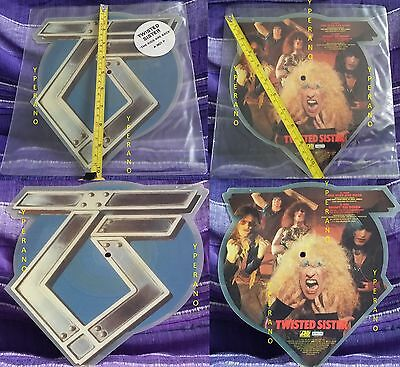 """TWISTED SISTER The kids are Back 10"""" RARE shaped PICTURE DISC Ltd edition UK '83"""