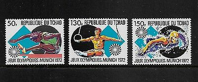 CHAD, Tchad - mint 1972 Olympic Games Munich, MNH MUH