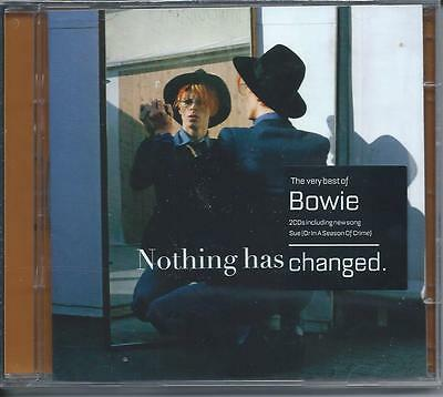 David Bowie - The Very Best Of / Greatest Hits - Nothing Has Changed 2CD NEW