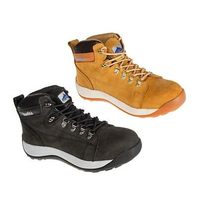 Portwest Steelite Ankle Mid Cut Leather Nubuck Safety Work Boot Toecap 5-13 FW31