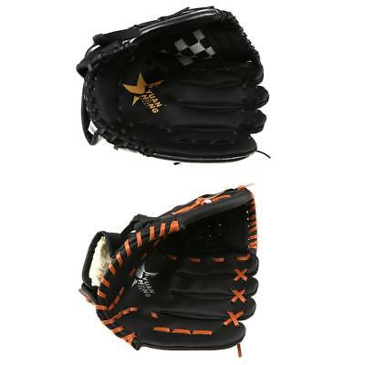 Softball Baseball Pitch Fielding Glove Mitts for Right Hand Thrower Training