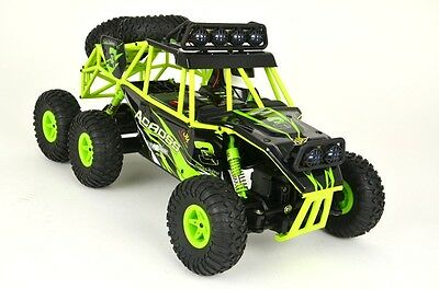 RC Rock Crawler 1:18 Monster Truck 6WD Allradantrieb WL-Toys 2,4Ghz RTR Offroad