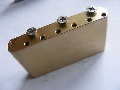 Fender Stratocaster Brass tremolo block - all models