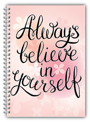 3mth Diet Food Diary WEIGHT WATCHERS Points Journal Planner Book Always Believe