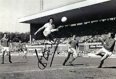 Brian Little Signed Aston Villa 12x8 Photo - Inc. Certificate of Authenticity