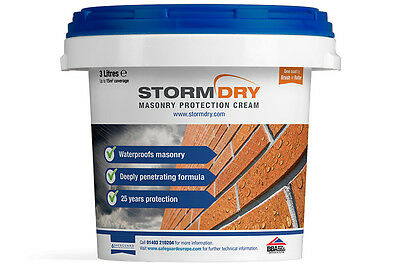 StormDry Masonry Protection Cream | BBA Certified | 9 Litres | Best Price!