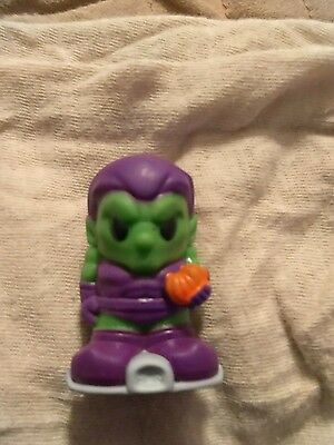 Ooshie pencil topper green goblin RARE
