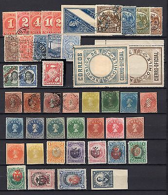 CHILE nice colletion including first issues BOB Official Tax 670 differents